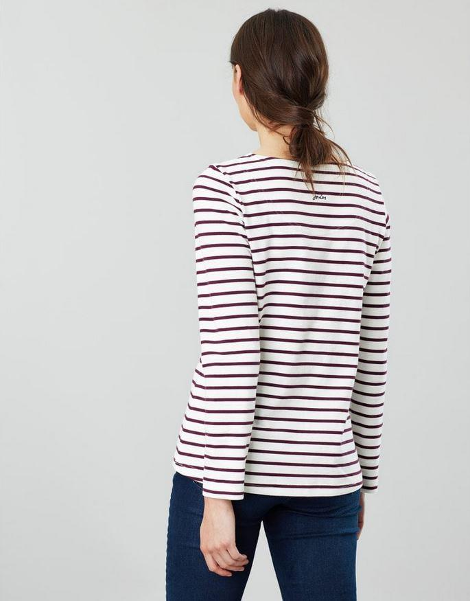 Joules-Womens-Harbour-Luxe-Long-Sleeve-Jersey-Top-AW19 thumbnail 17