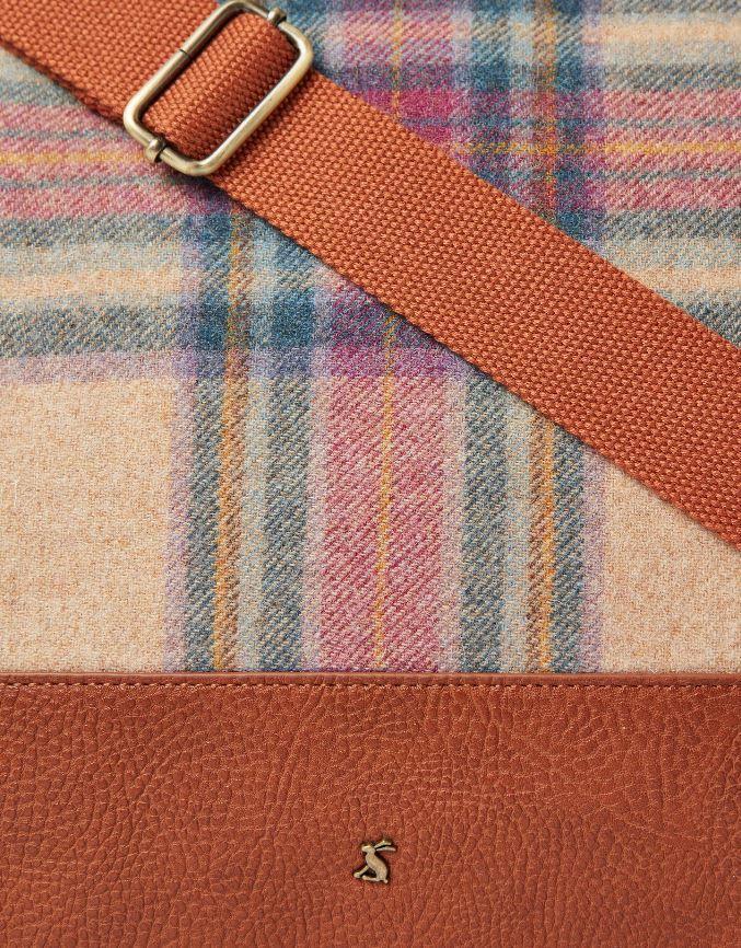 Joules-Paddington-Tweed-Holdall-Overnight-Bag miniature 10