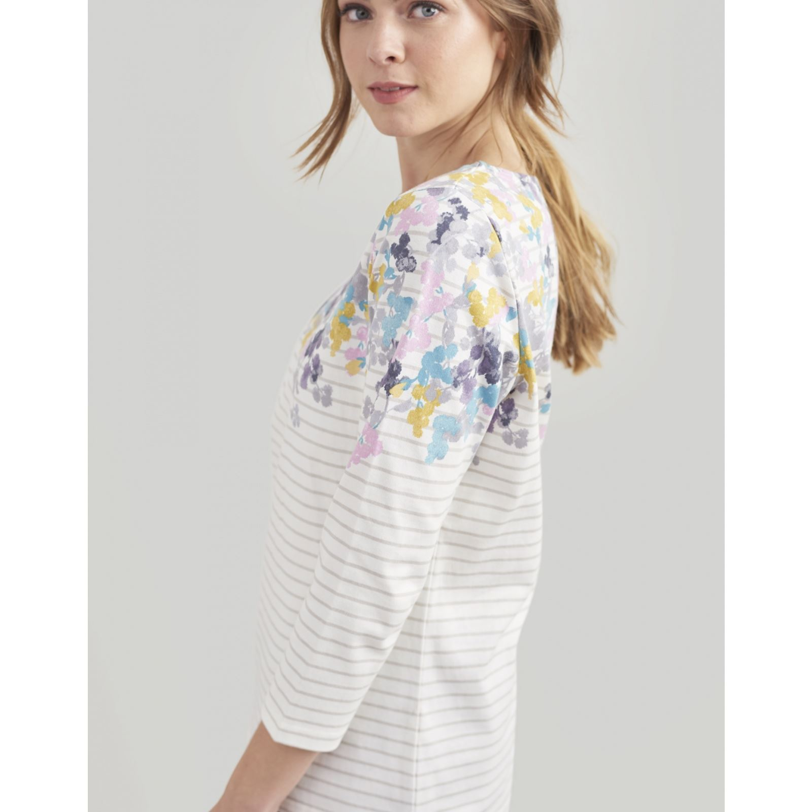 Joules-Harbour-Printed-3-4-Sleeve-Jersey-Top-SS19 thumbnail 18
