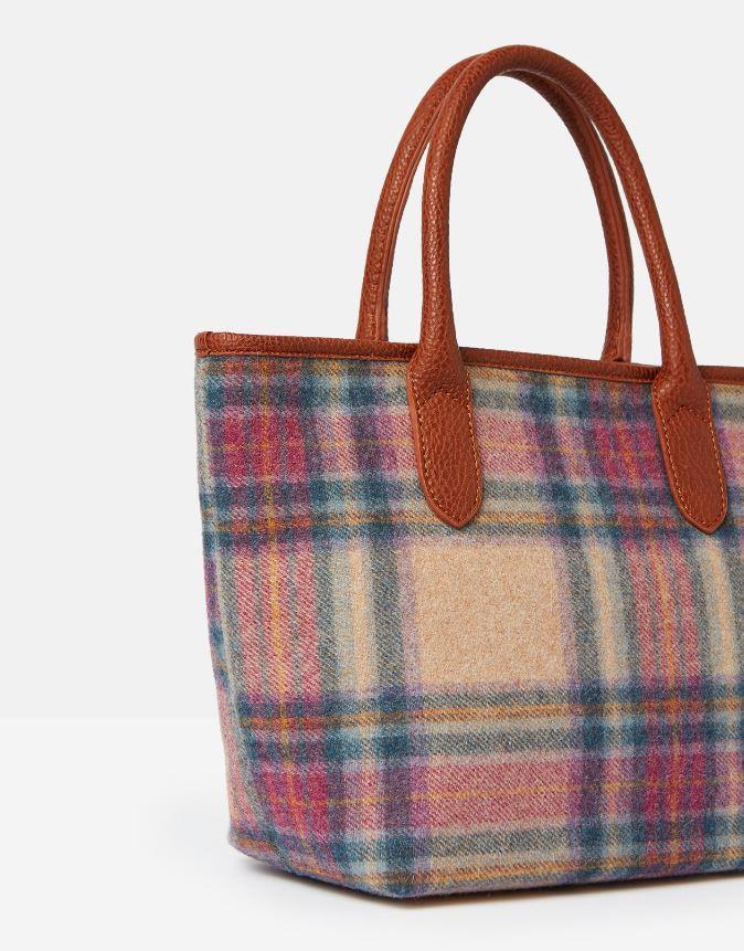 Joules-Carey-Tweed-Grab-Bag-Handbag-AW19 miniature 15