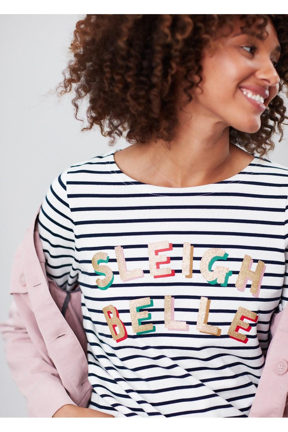 Joules-Harbour-Print-Long-Sleeve-Jersey-Top-ALL-COLOURS thumbnail 32