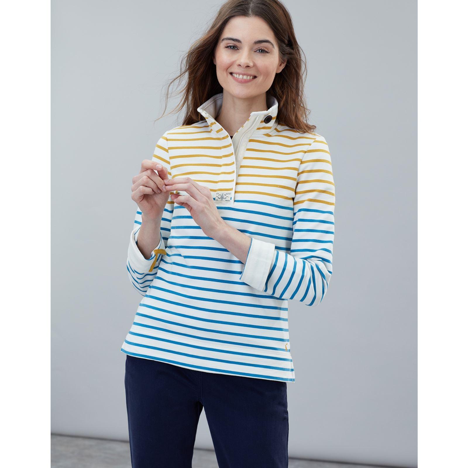Joules-Saunton-Classic-Cotton-Sweatshirt-ALL-COLOURS thumbnail 3
