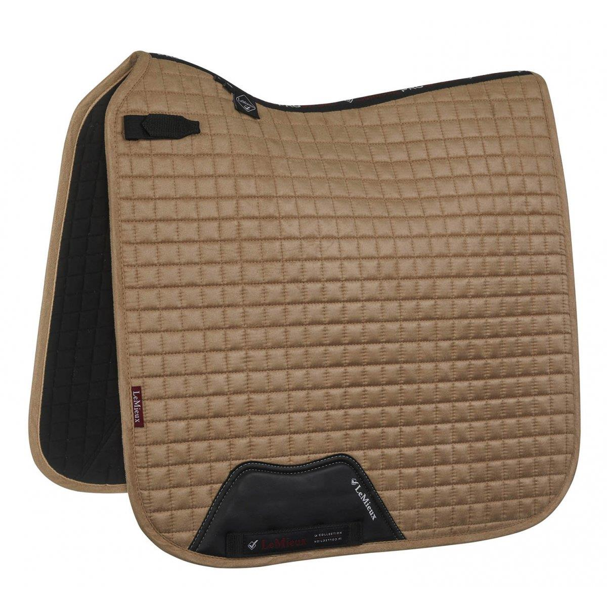 LeMieux-Prosport-Suede-Dressage-Square-Saddlecloth-All-Colours miniature 9