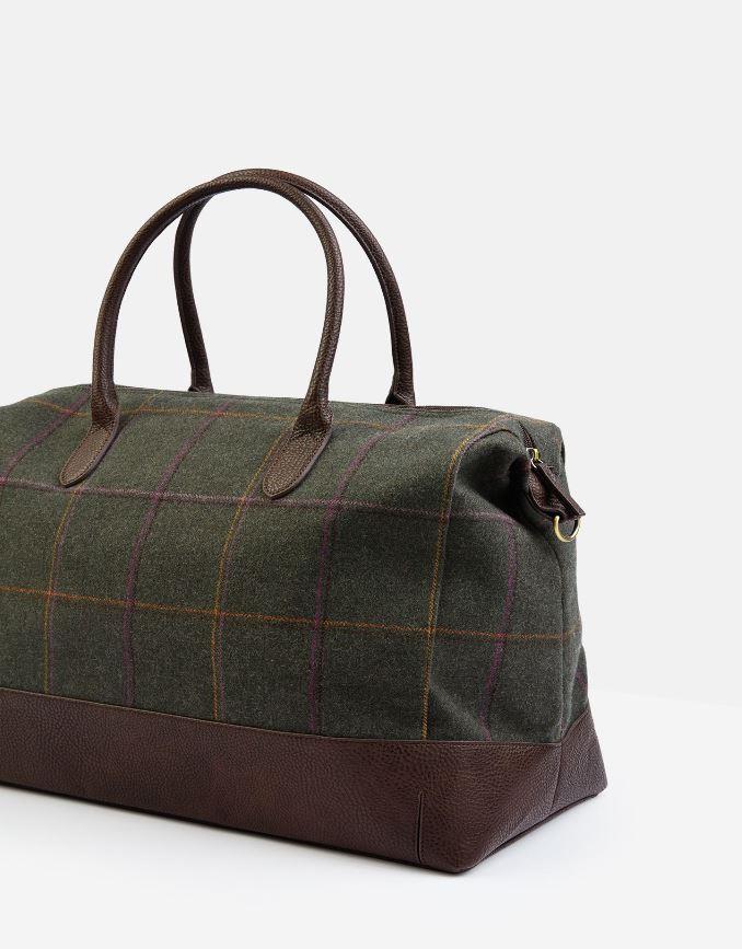 Joules-Paddington-Tweed-Holdall-Overnight-Bag miniature 4