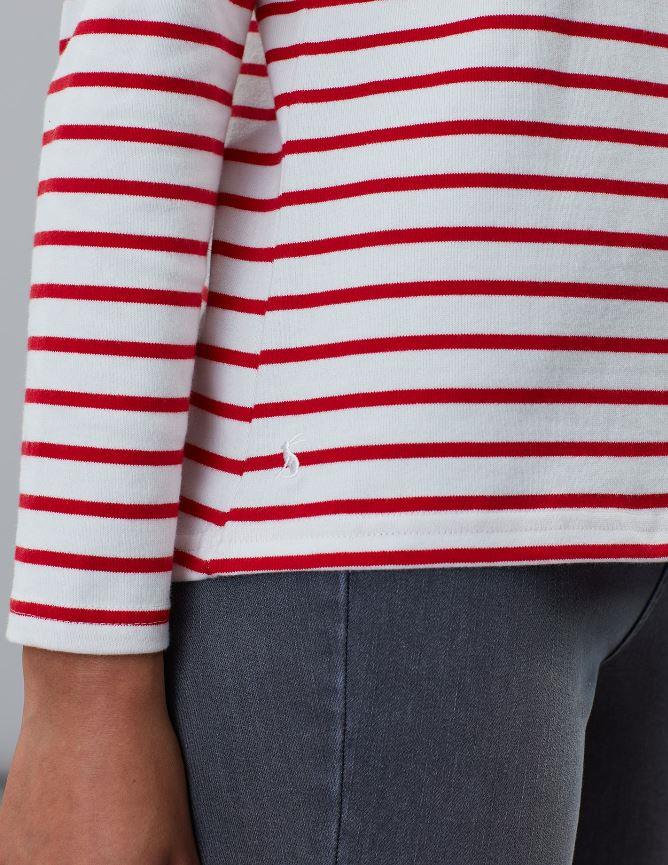 Joules-Womens-Harbour-Luxe-Long-Sleeve-Jersey-Top-AW19 thumbnail 9