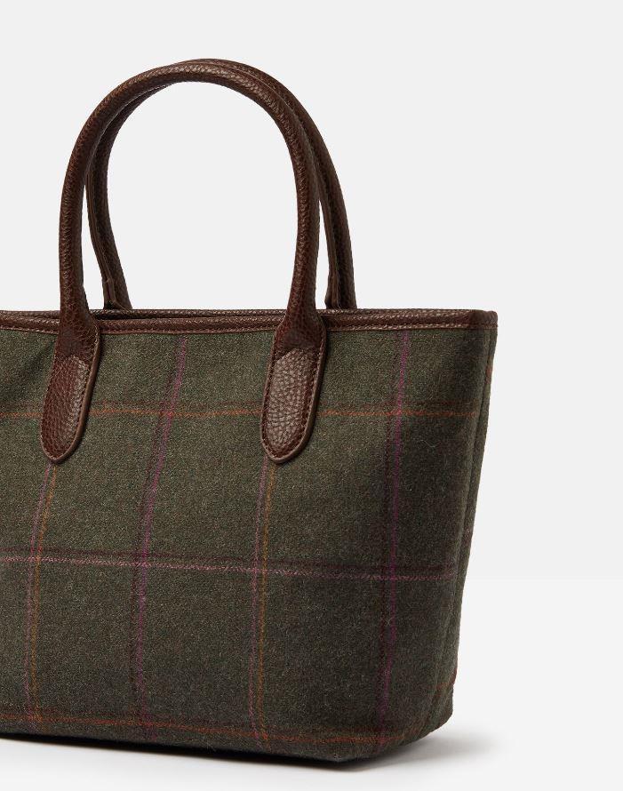 Joules-Carey-Tweed-Grab-Bag-Handbag-AW19 miniature 9