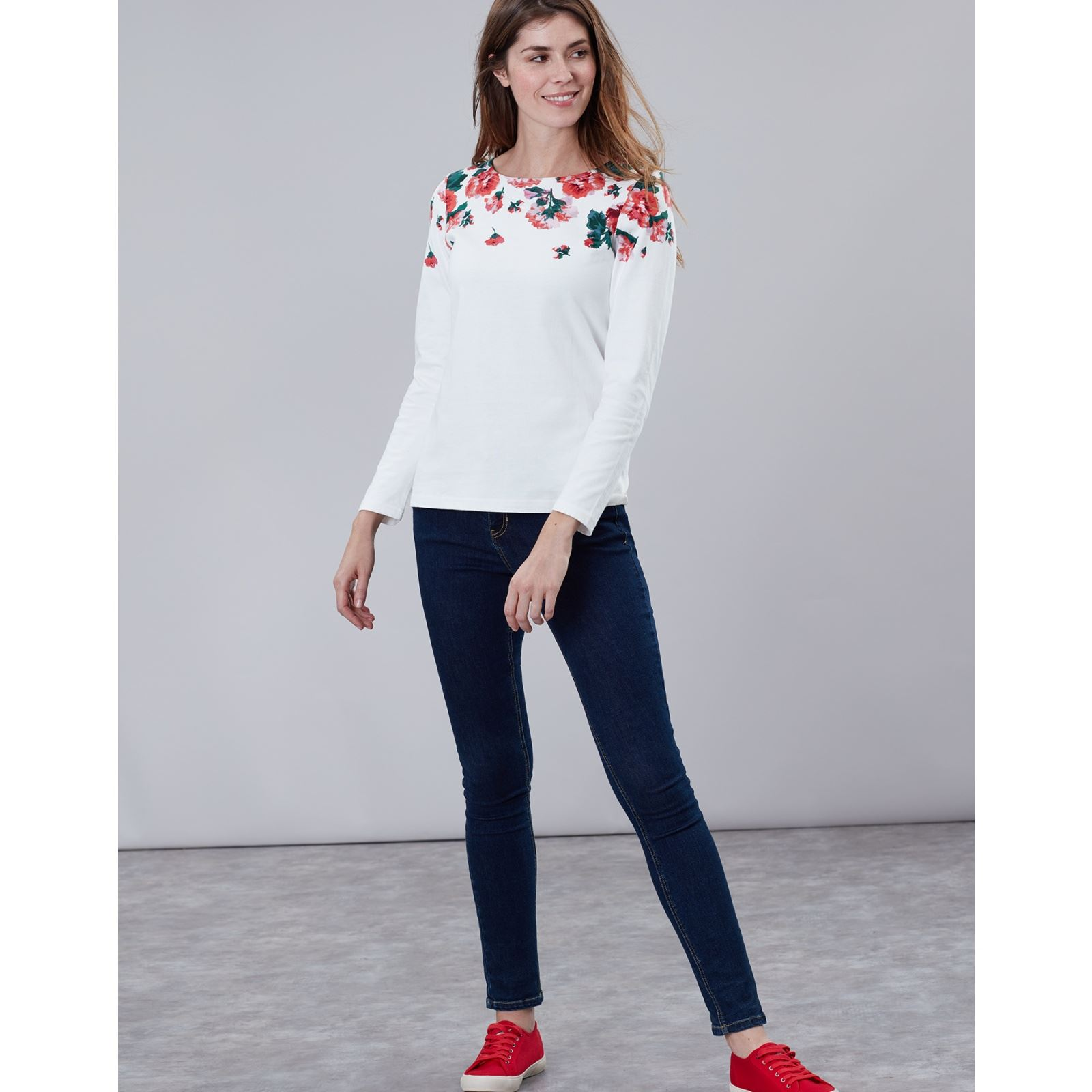Joules-Harbour-Print-Long-Sleeve-Jersey-Top-ALL-COLOURS thumbnail 42