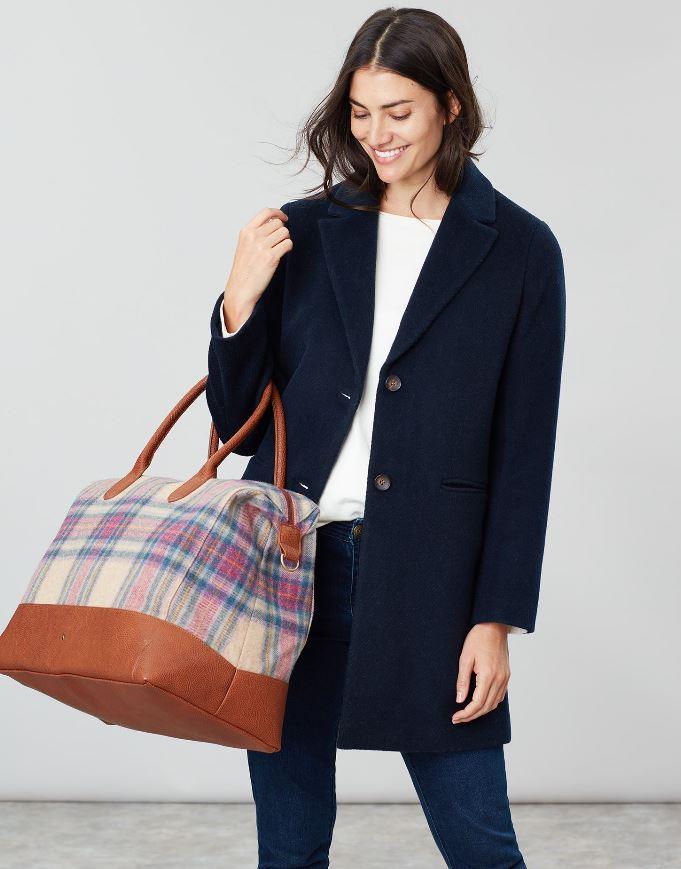 Joules-Paddington-Tweed-Holdall-Overnight-Bag miniature 12