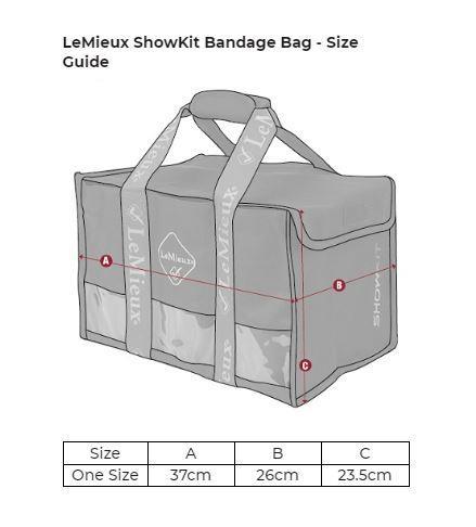 LeMieux-ShowKit-Bandage-Bag-Equine-Luggage thumbnail 4