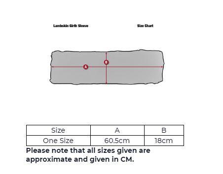 LeMieux-ProLambskin-Merino-Slip-On-Girth-Sleeve-Dressage-or-Jumping thumbnail 4