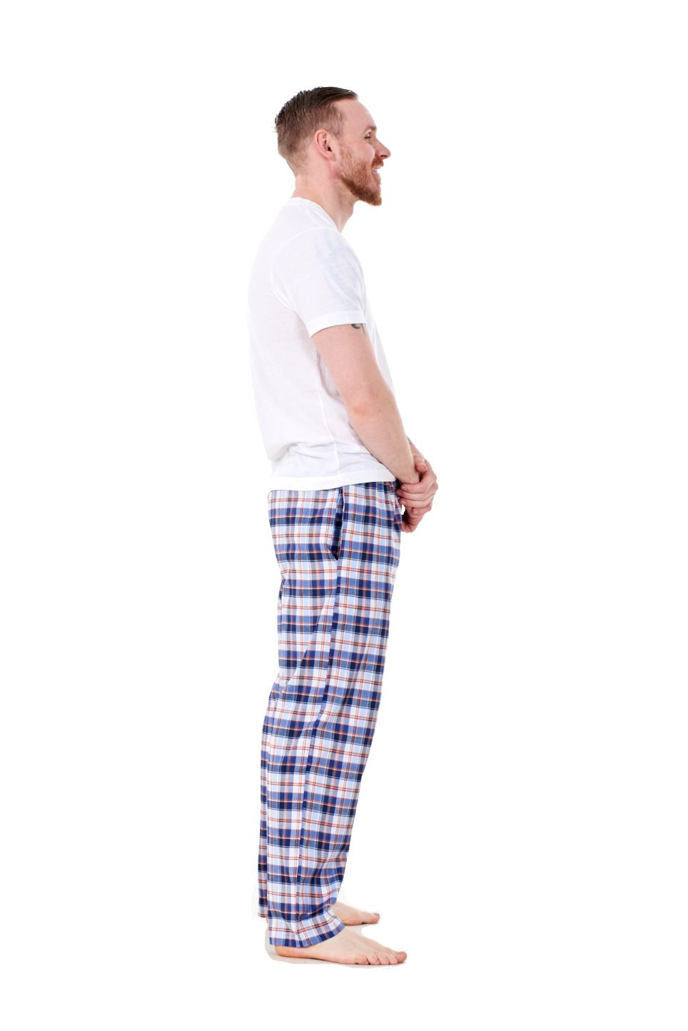 Mens-Pyjama-Bottoms-Rich-Cotton-Woven-Check-Lounge-Pant-Nightwear-Big-3XL-to-5XL Indexbild 17