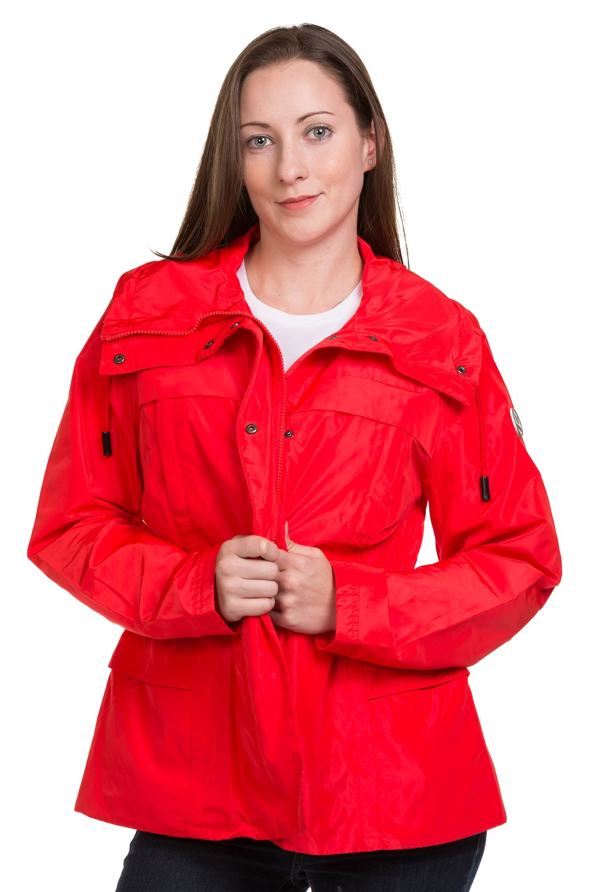 New-Ladies-casual-Jacket-Plain-Lining-Lightweight-Quality-outwear-Coat-8-16 thumbnail 16