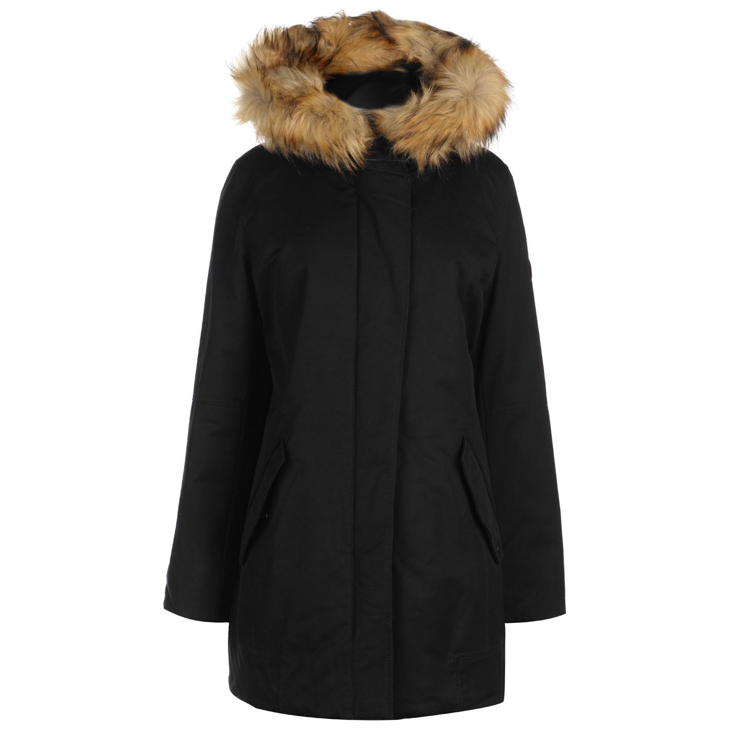 Womens MARC O POLO Marc M L Fur H Coat Parka Jacket New  77b8b9dcd5