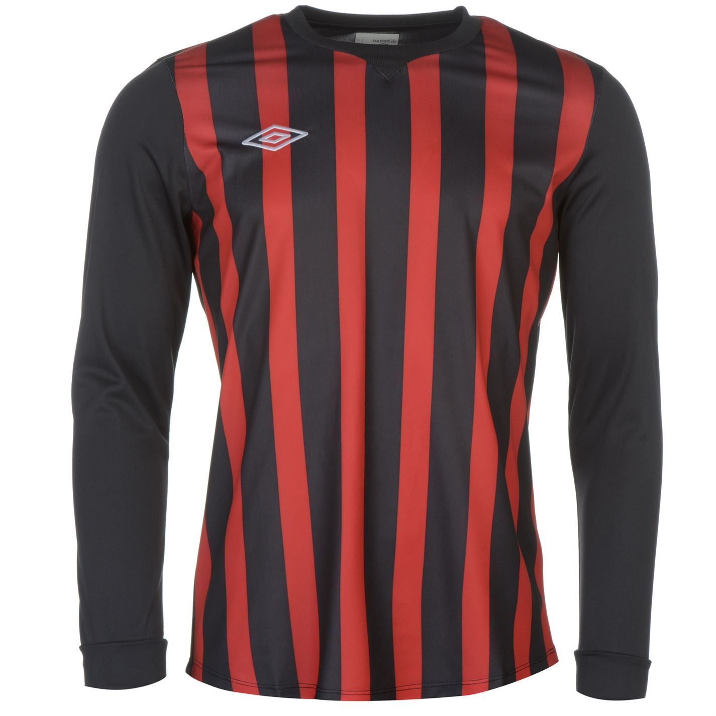 Image is loading Umbro-Mens-Striped-Long-Sleeve-Jersey -Lightweight-Performance- 9a40b9f6a