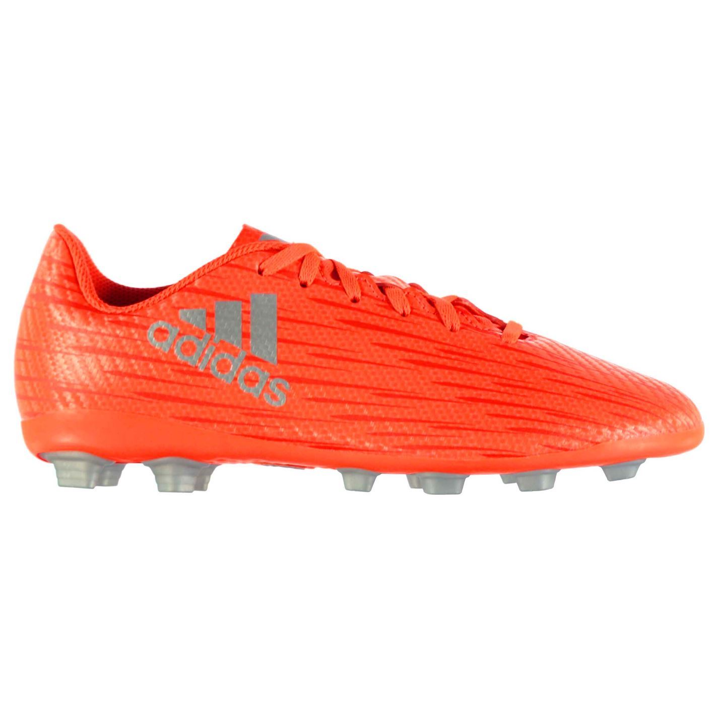 adidas Kids X 16.4 FG Football Boots Junior Lace Up Shoes Moulded ... 2d7db2fdb
