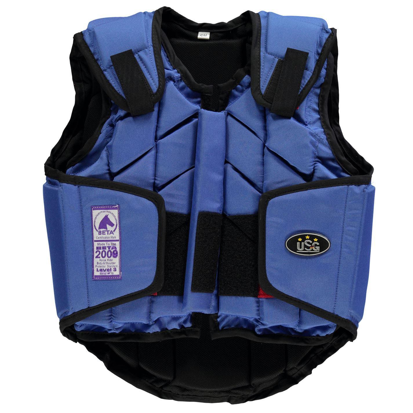 USG Niños Eco Flexi Cuerpo Protector Juniors Cremallera Rider Protección Cremallera Juniors caballos ae2c5e