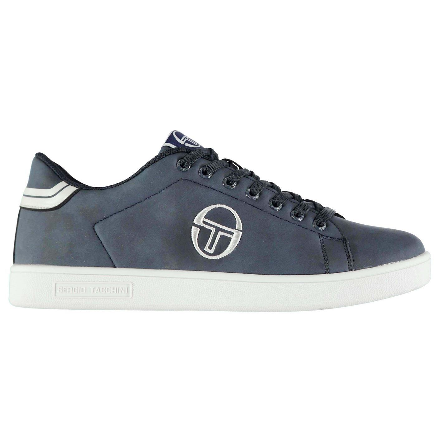 Sergio Tacchini  Uomo Gran Mac Trainers Niedrig Lace Up TextuROT Padded Ankle Collar TextuROT Up cd0376