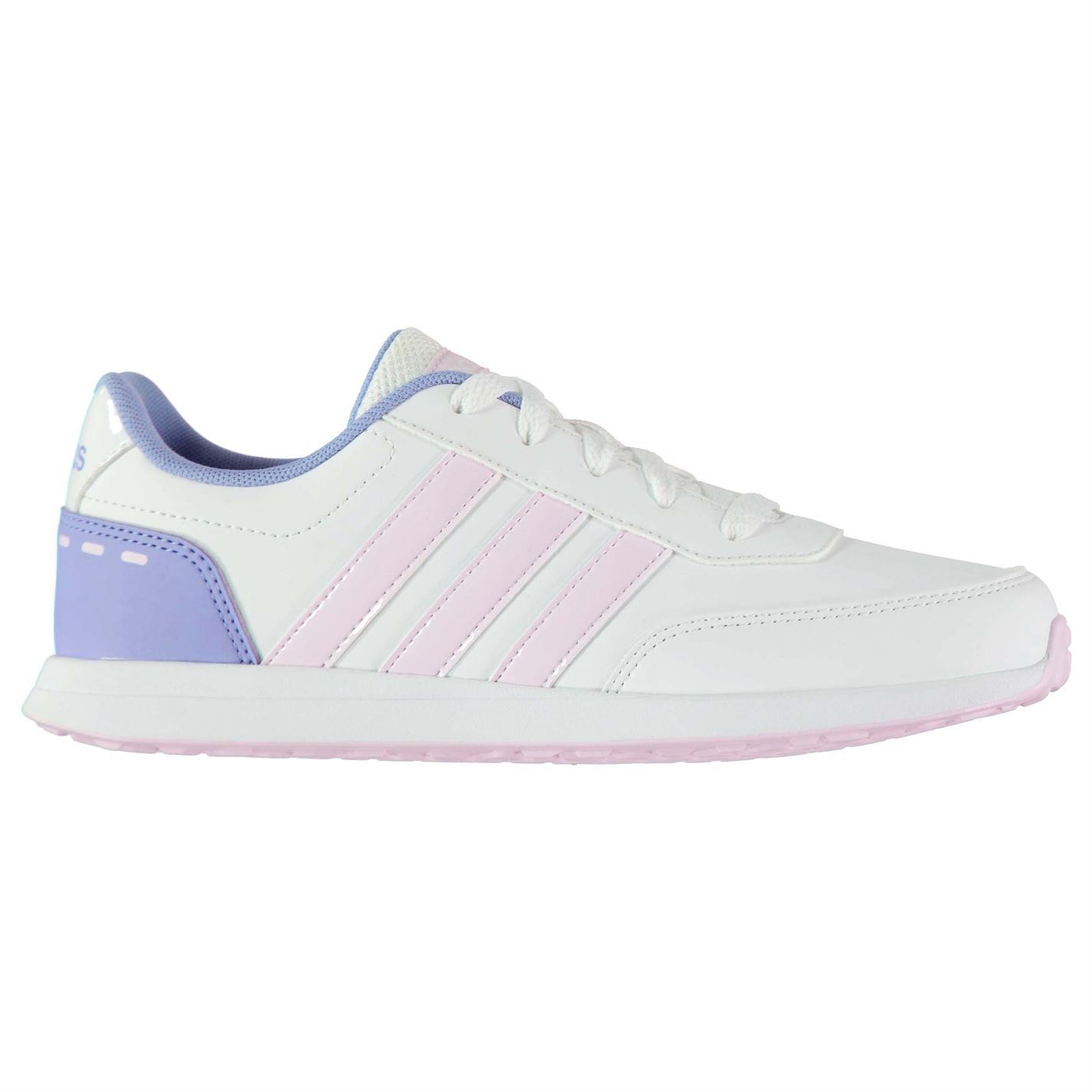 adidas Kids Girls Switch Synthetic Child Trainers Low Lace Up Casual  Comfortable