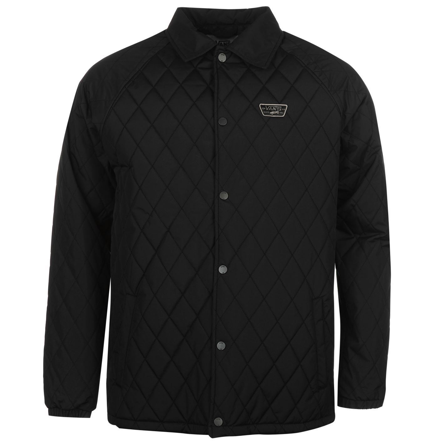 vans mens quilted jacket