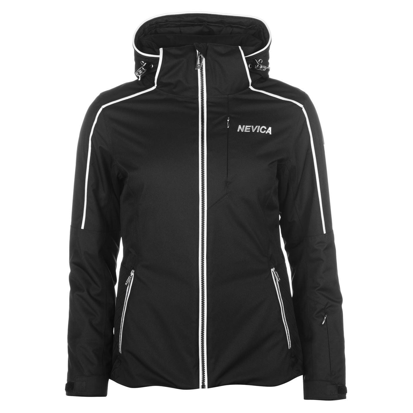 2b25080a75cc Nevica Womens Vail Ski Jacket Coat Top Long Sleeve Waterproof ...