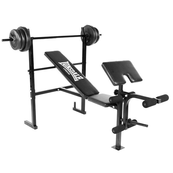 Lonsdale Weight Bench Training Exercising Home Gym ...