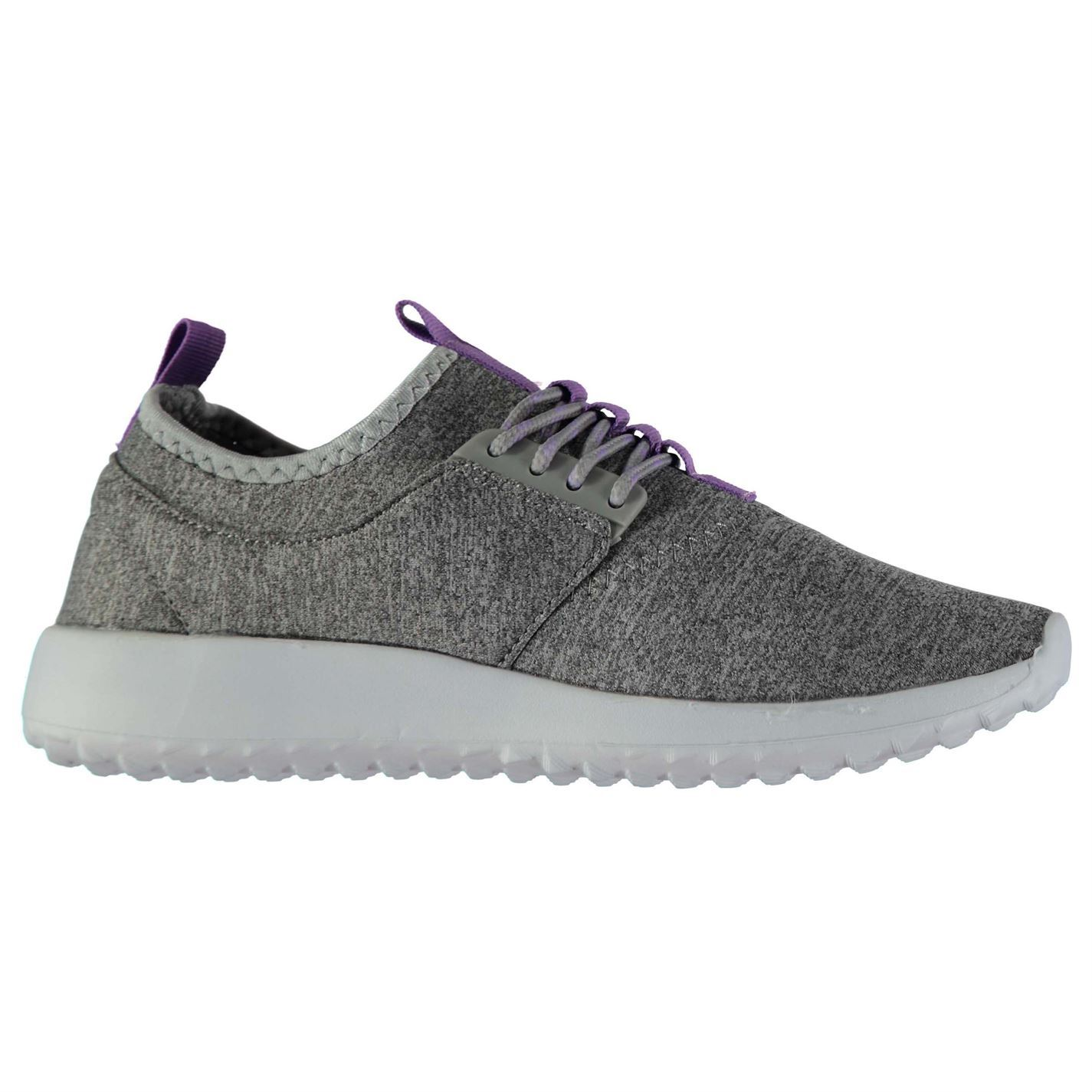 Womens Rock and Rags Lace Up Trainers Runners Lightweight New