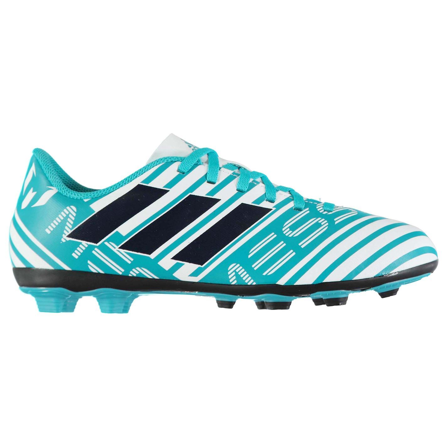 adidas Kids Nemeziz Messi 17.4 FG Junior Football Boots Firm Ground Lace Up bd3c54f50
