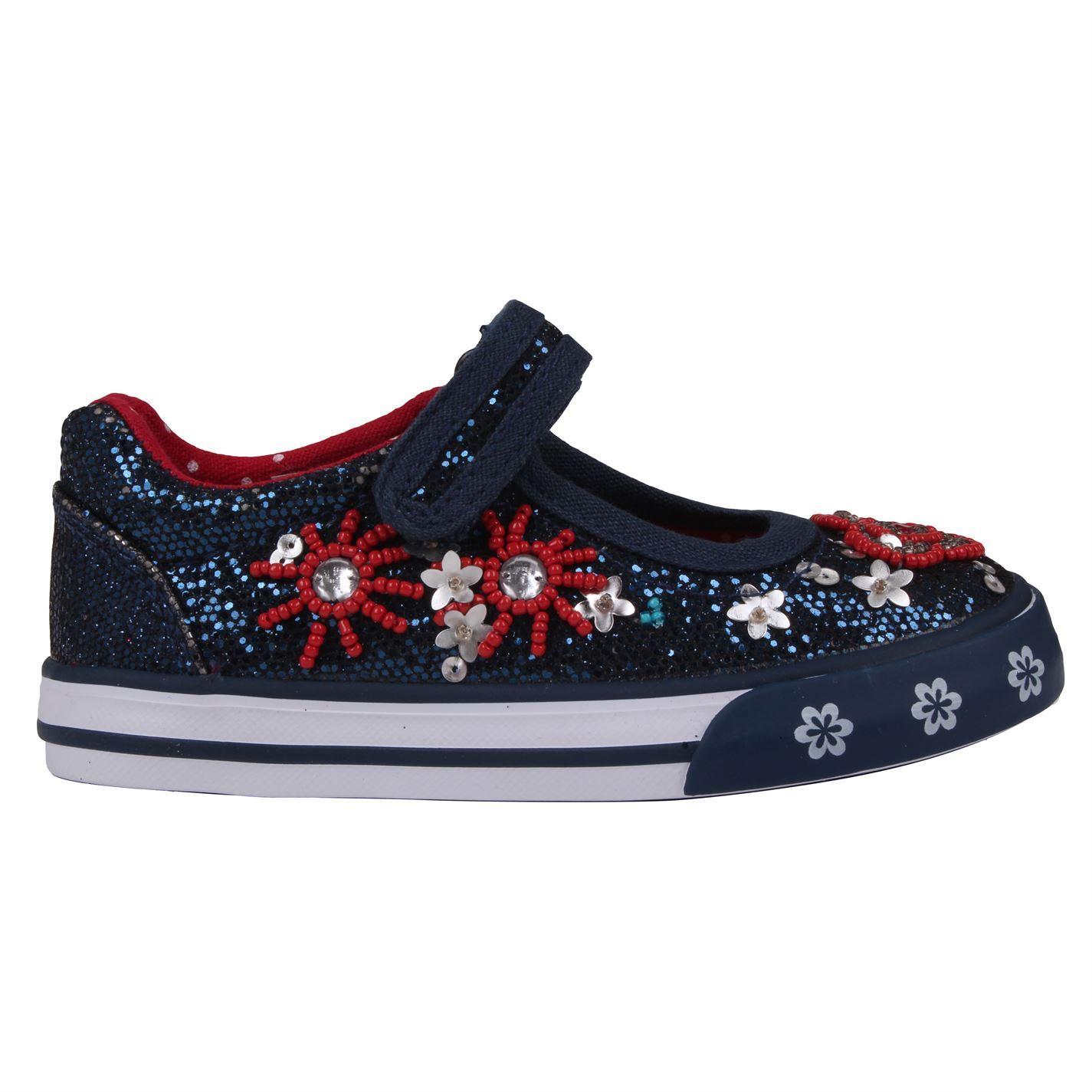 Miso Girls Beaded Ballet Baby Shoes Footwear Glitter Upper Synthetic
