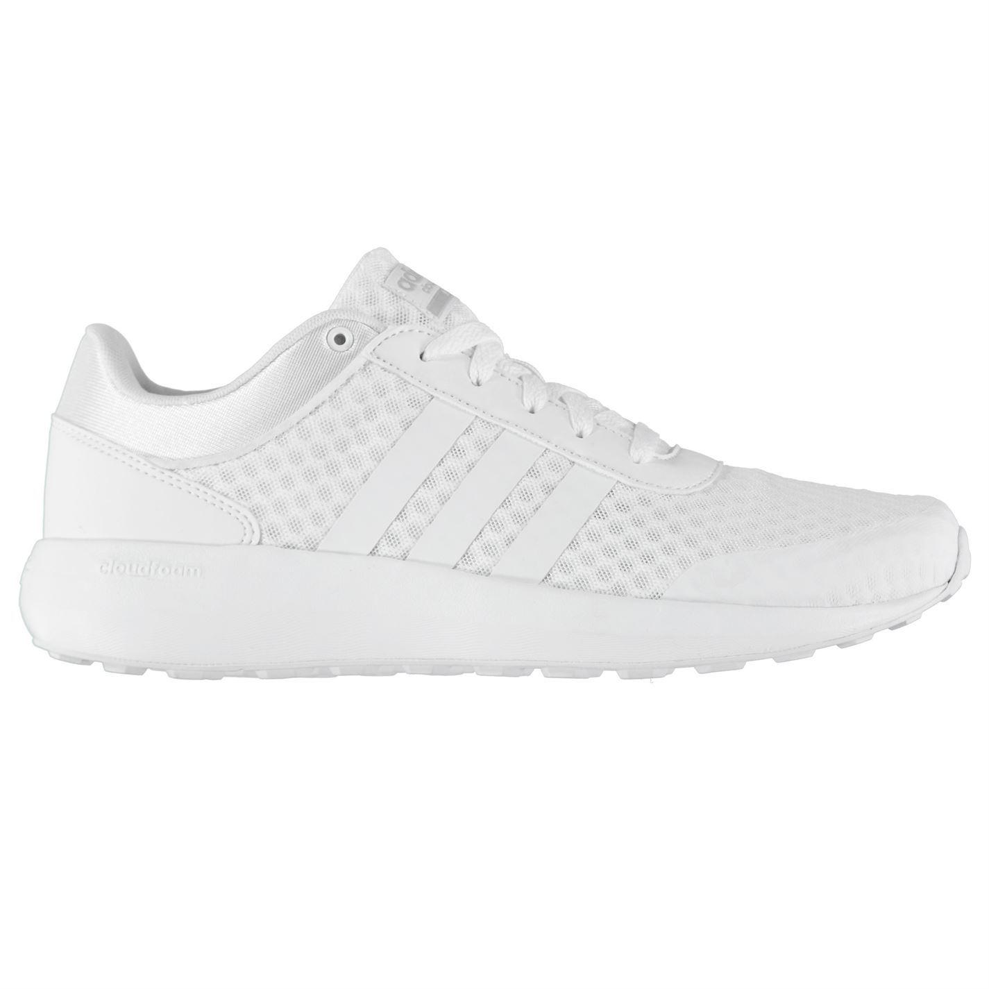 sports shoes 0b456 0540c ... Adidas hombres caballeros caballeros caballeros nube formadores de  espuma Zapatillas Zapatos cordones calzado carrera fija el