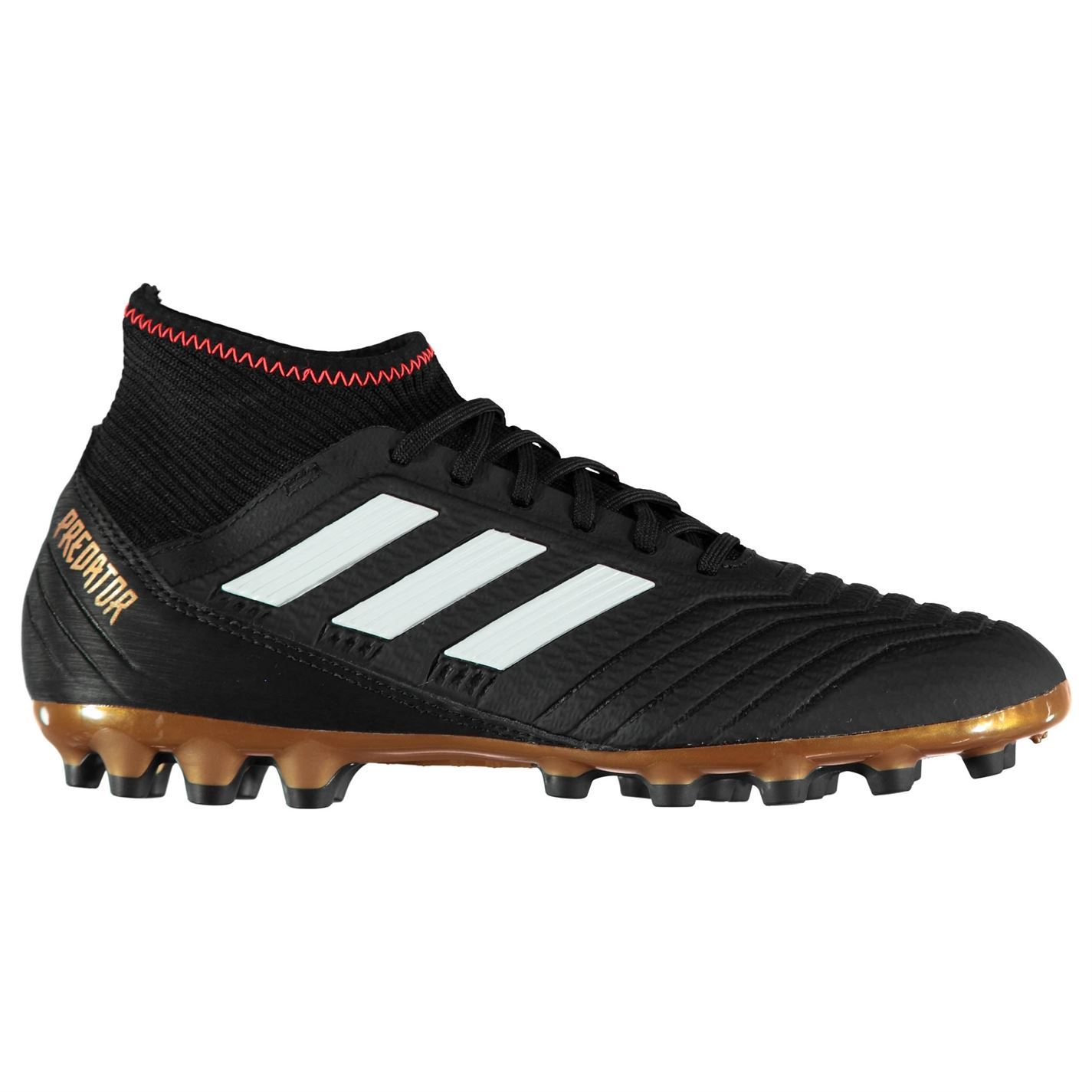 adidas Kids Predator 18.3 Junior AG Football Boots Firm Ground Lace Up Mesh 4add3f671325