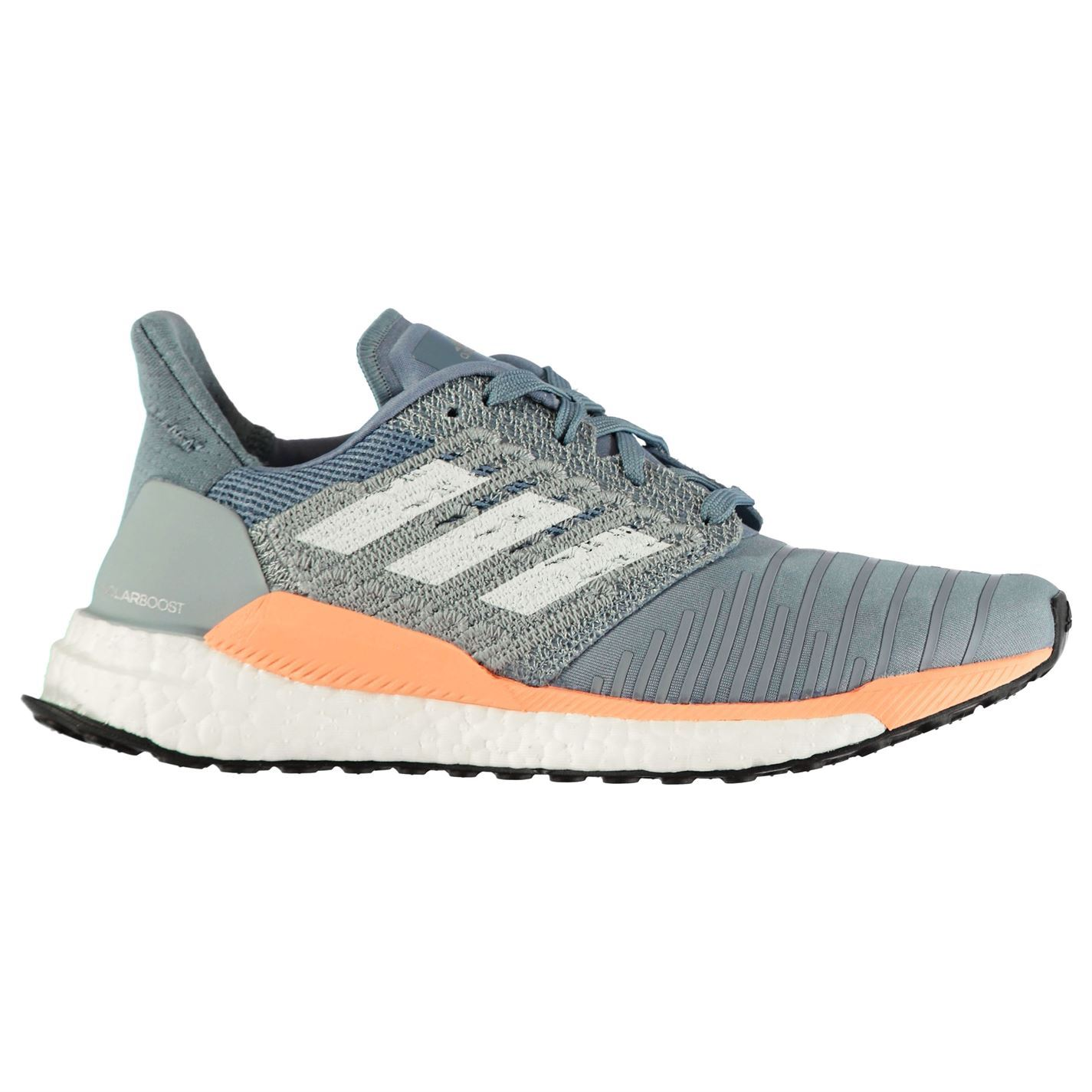 0bed7cd11e23 adidas Solarboost Running Shoes Ladies Road Lightweight Stretch