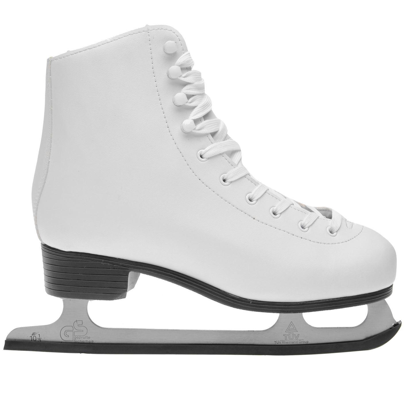 2efc8e8675f Nevica Womens Ladies Figure Skates Classic Ice Leather Upper