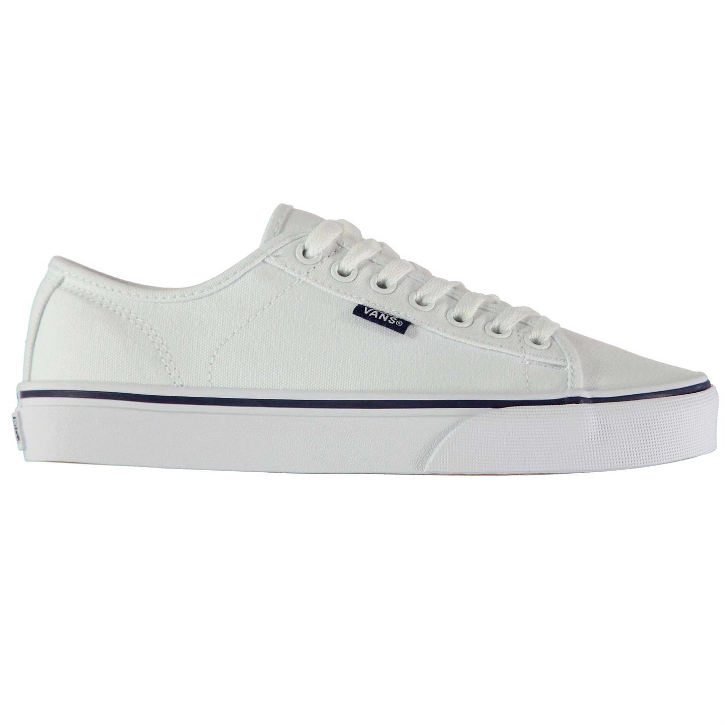 01fed6a5bf VANS Ferris SNEAKERS Mens Gents Canvas Low Laces Fastened Padded ...