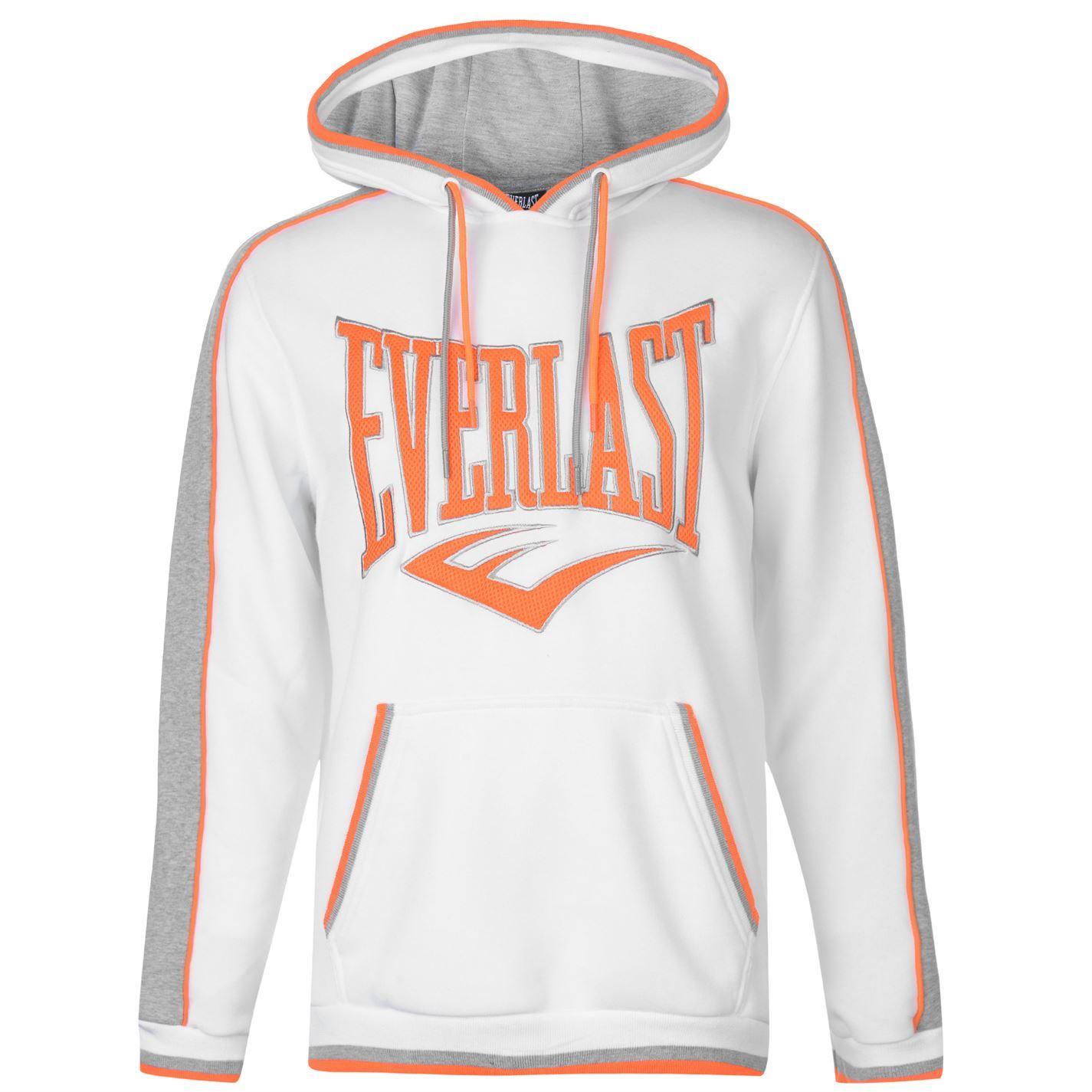 Everlast Mens Large Logo OTH Hoody Hoodie Hooded Top Long Sleeve ... a0dea15fd35