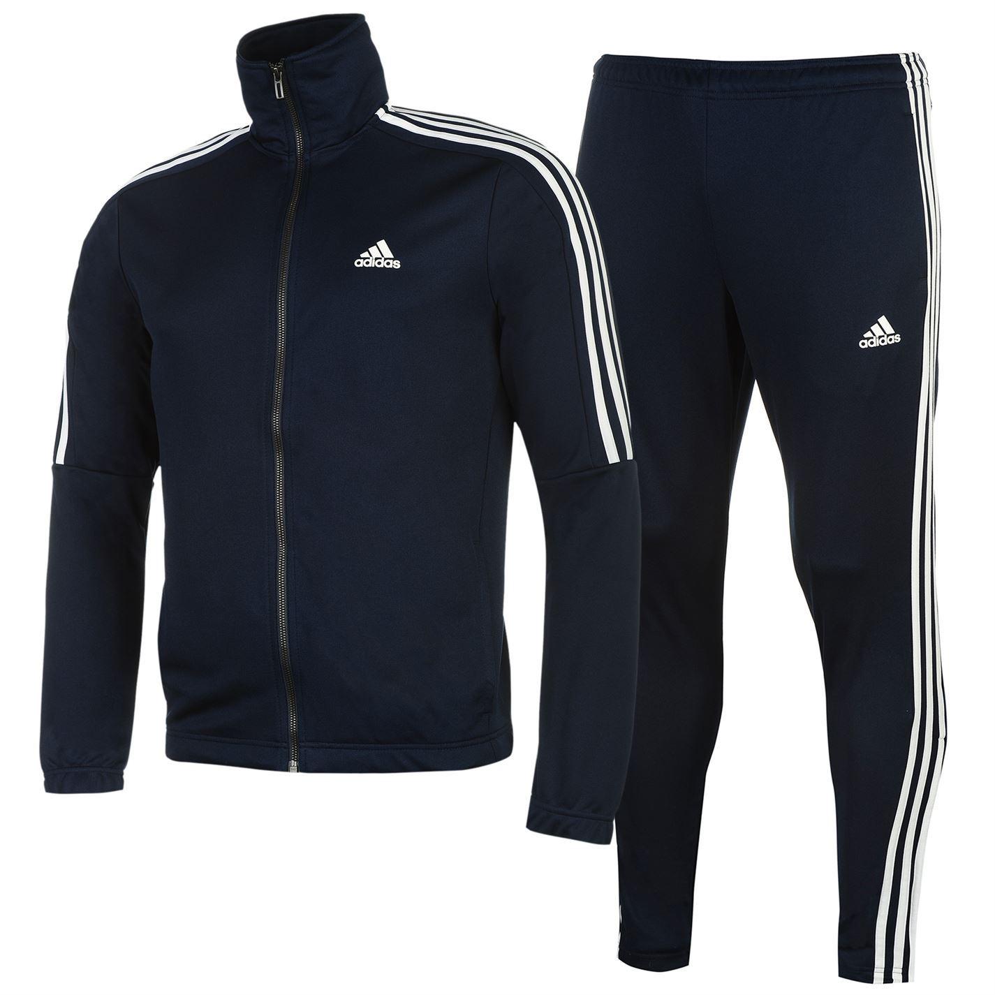 Adidas hombre  tiro Poly Suit chandal color Stripe Print Block