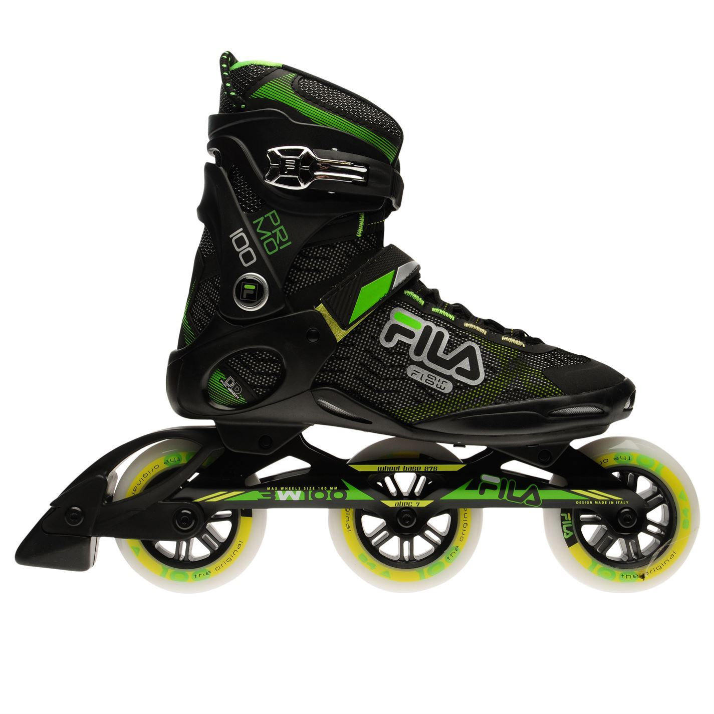 Fila Primo100 Primo100 Fila Inline Skates  Herren Gents Laces Fastened Ventilated Padded Ankle f320ab