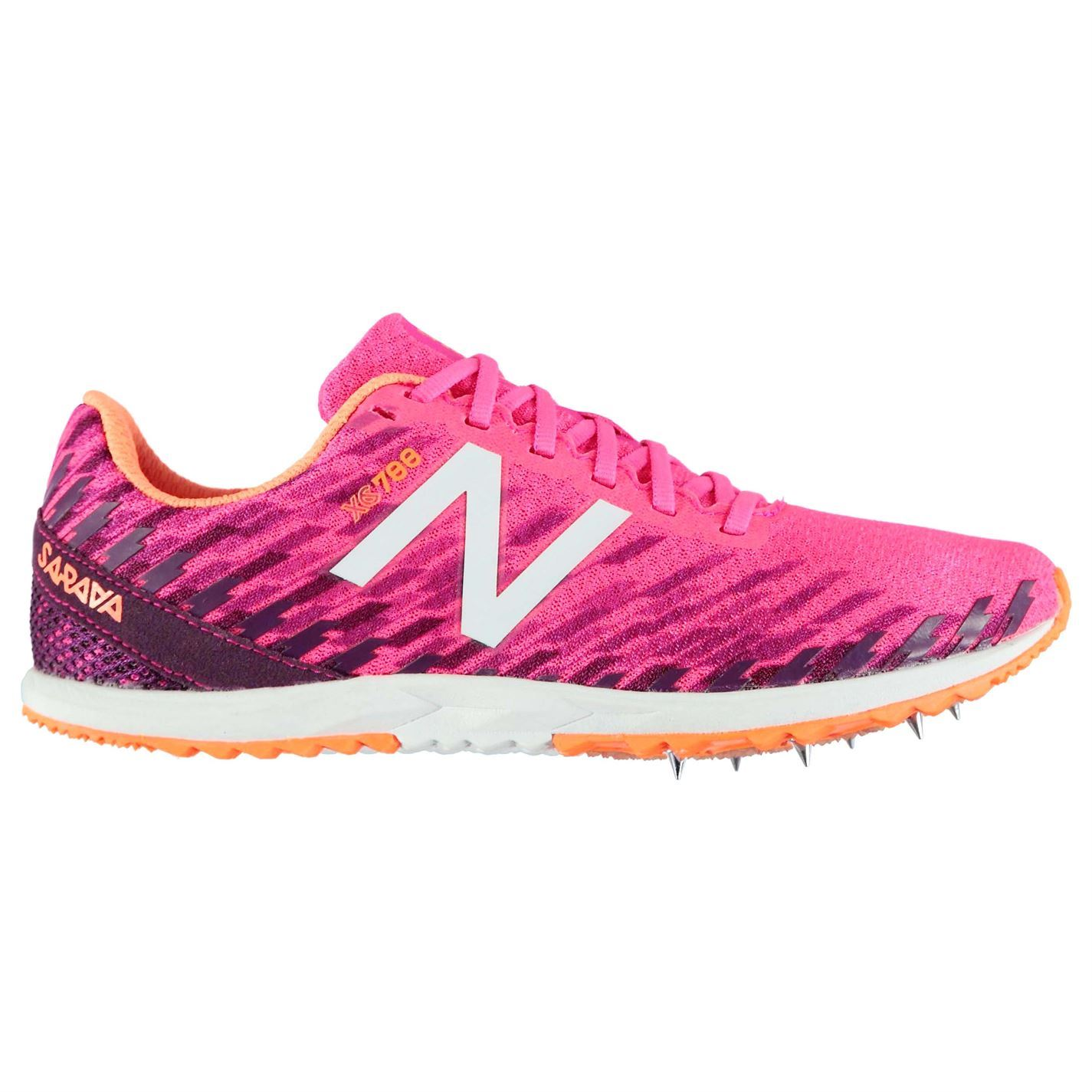 New-Balance-Womens-Trainers-Trail-Running-Shoes-Lace-Up-Lightweight-Spikes