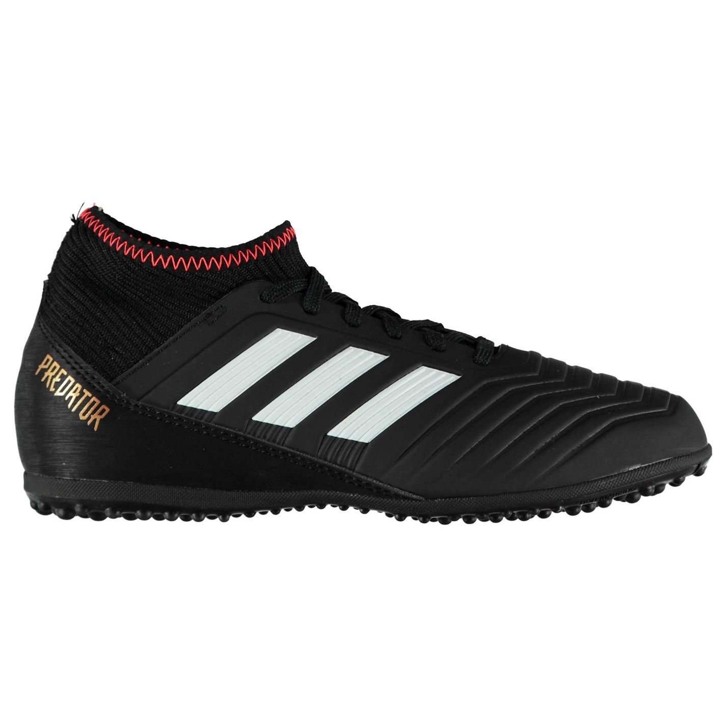 75d6364b3993 ... black white solar red e15a8 61e48  new zealand adidas kids predator  tango 18.3 junior astro turf trainers football boots lace 06f1d 85eef