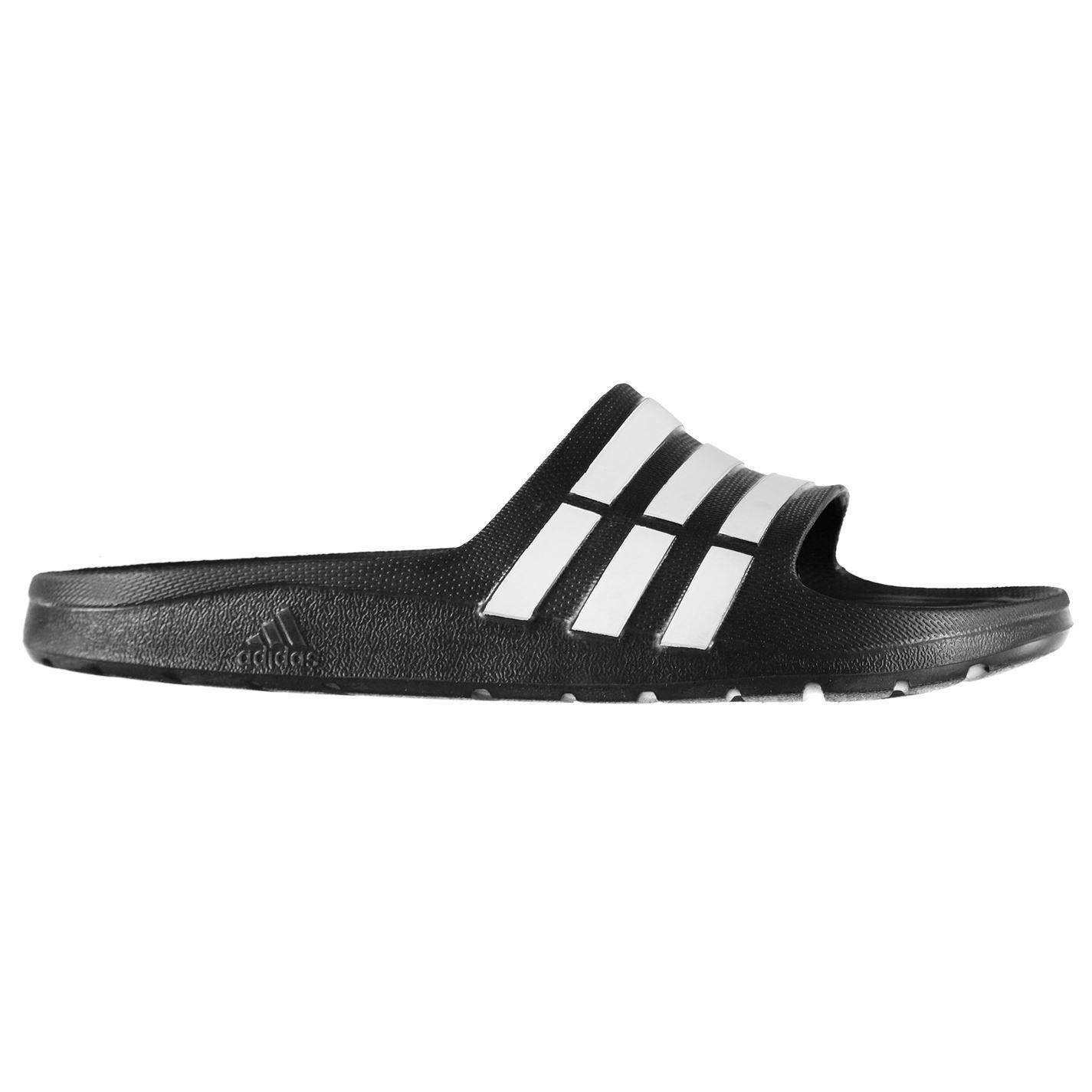 898fd57351dae Kids Sliders Pool Strap Ebay Junior Stripe Duramo Adidas Shoes 7ApWw1q41c