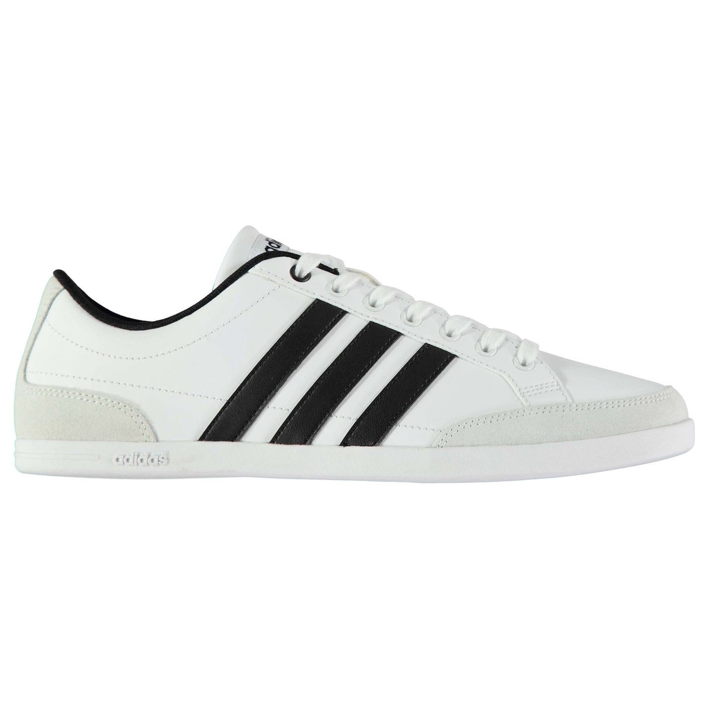 Adidas  Trainers Uomo Gents Caflaire Leder Trainers  Schuhes Laces Fastened Ankle Collar 68757c