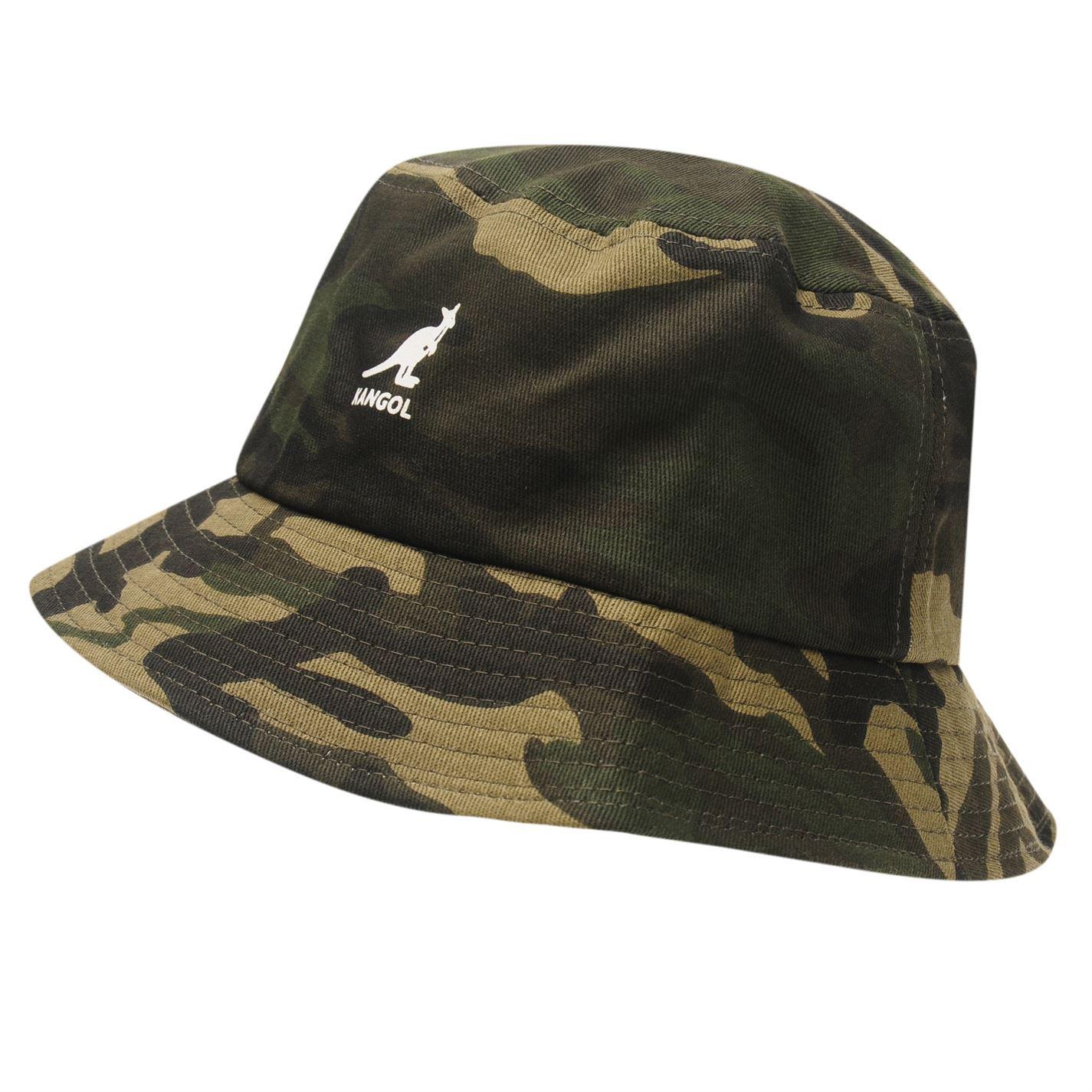 Kangol Mens Camouflage Bucket Hat Cotton Pattern | eBay