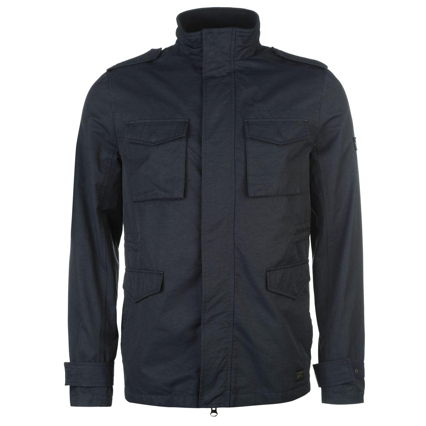 firetrap mens 4 pocket jacket winter warm high neck full zip top #2: 275d8962 2050 4b20 8562 4ac350d3c8be