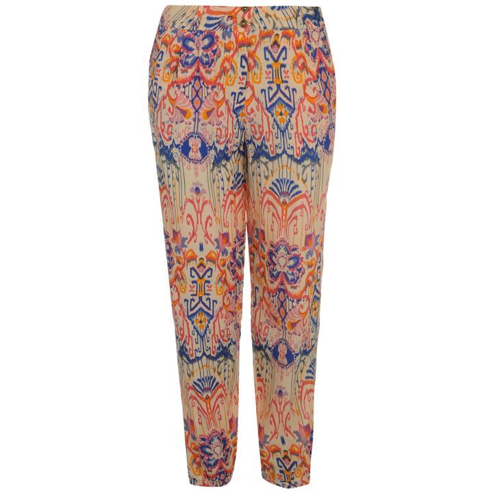 Tommy-Hilfiger-Womens-Ladies-Priscilla-Pants-Casual-Zip-Fly-Trousers-Bottoms