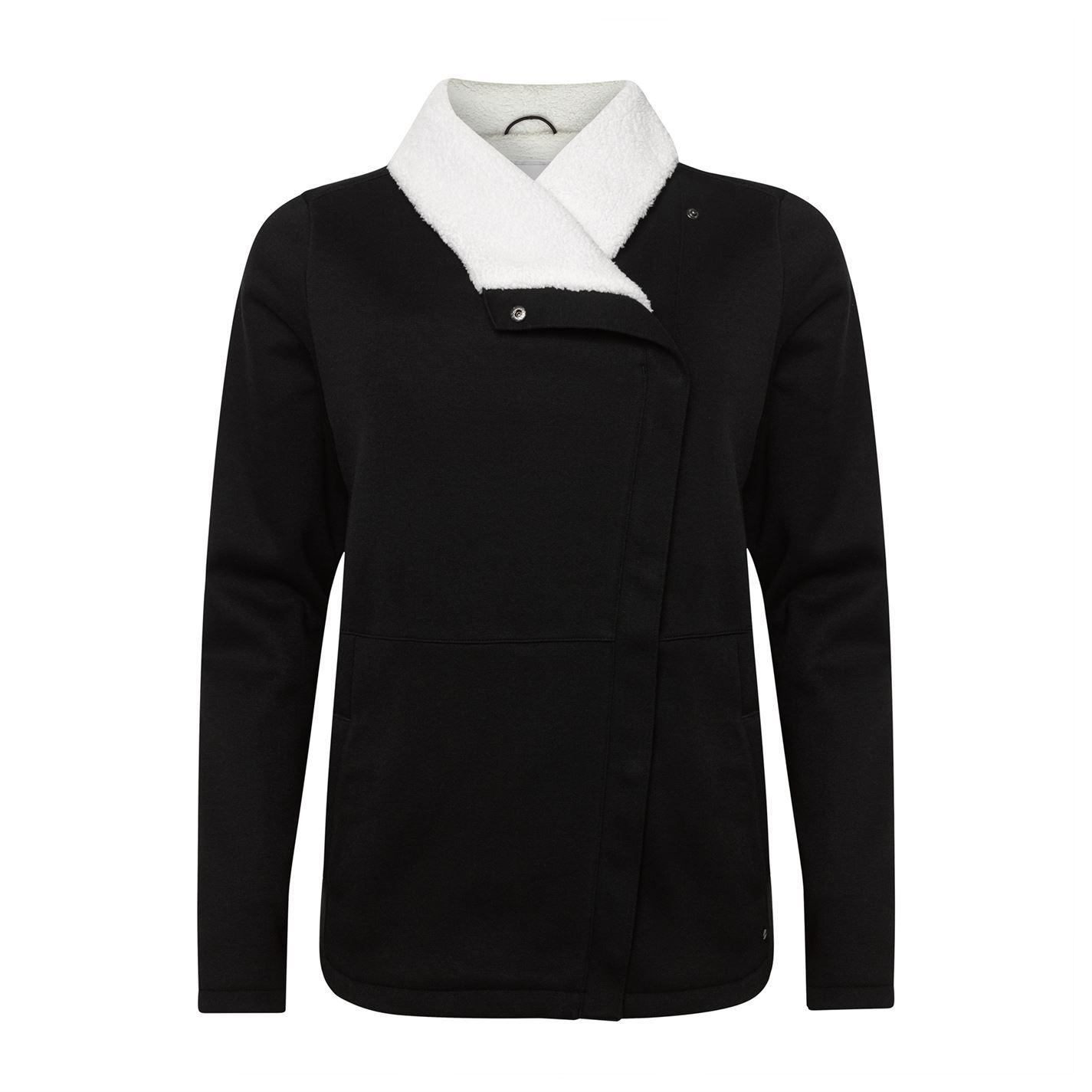 ONeill-raffinata-giacca-in-pile-Donna-Cappotto-Top-Zip-Inverno-caldo-timbro-a-pressione