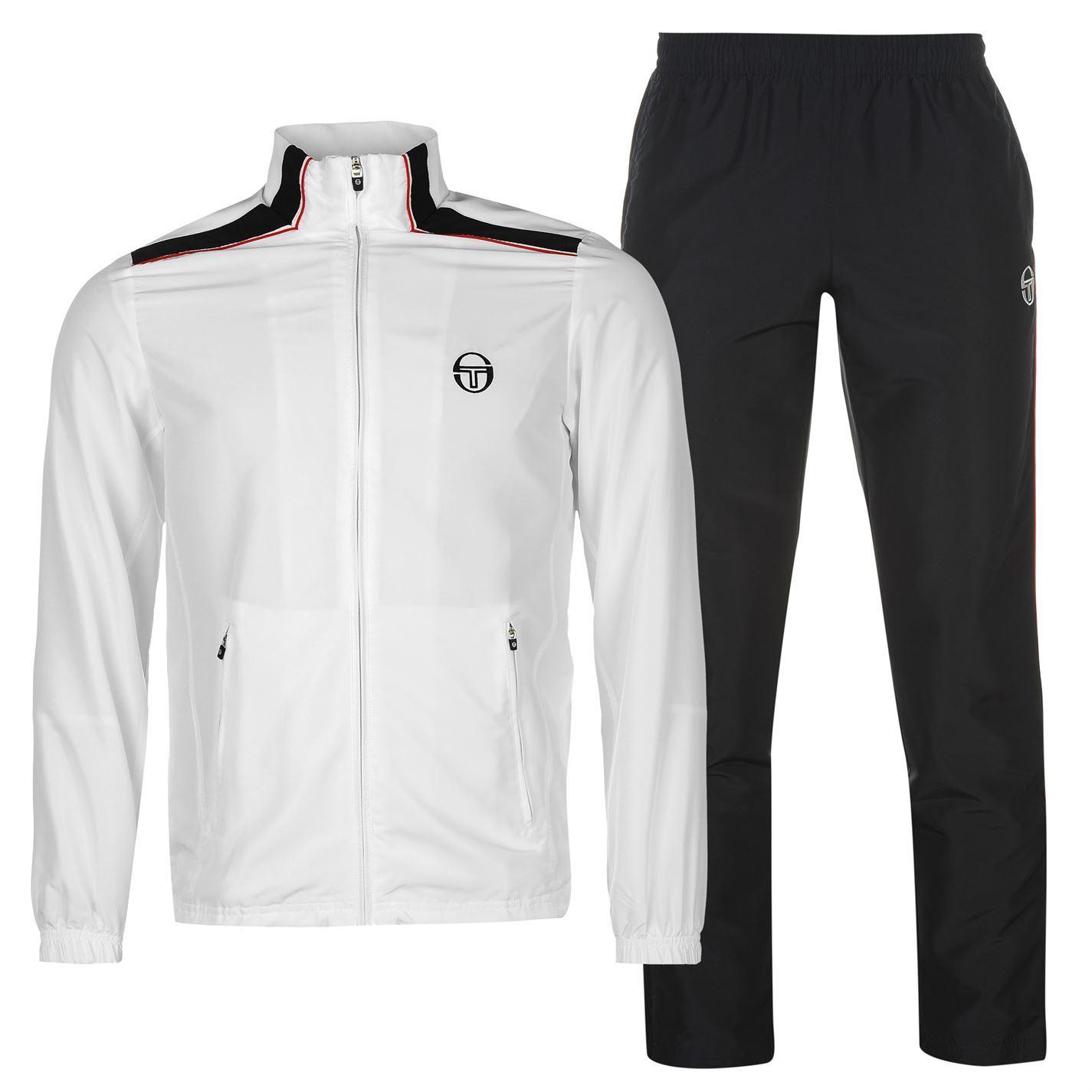 7d0c034ee9 Sergio Tacchini Mens Tuta Tracksuit Long Sleeve Full Zip Top Sports ...