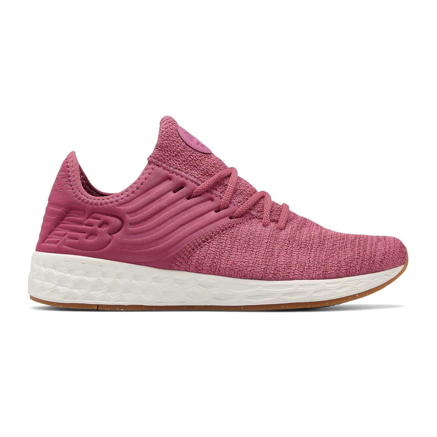 Femme New Balance Foam Cruz Decon Trainers Runners Lace Up Textured New