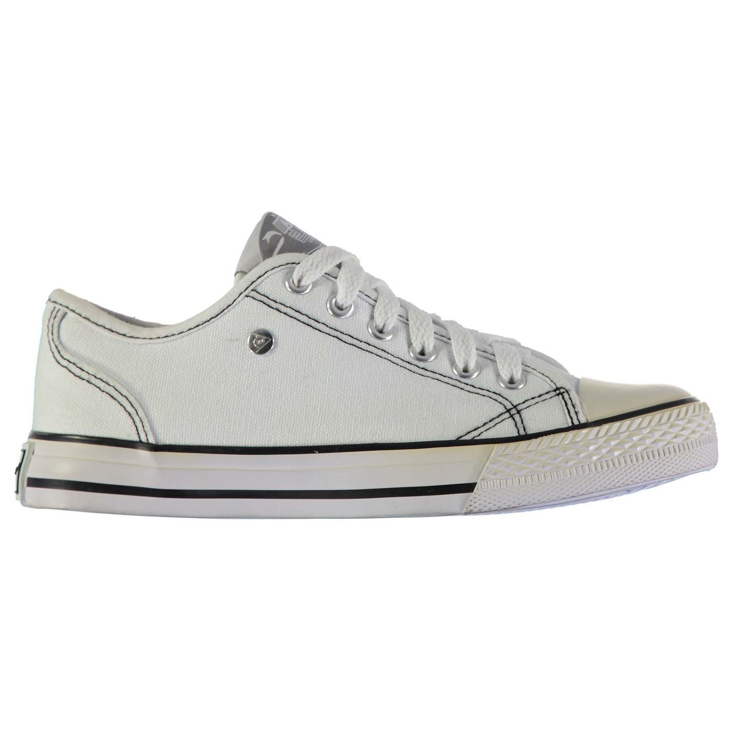 6688b29e5789 The d.unlop Canvas Low Lad.ies Trainers are id.eal for everyd.ay wear