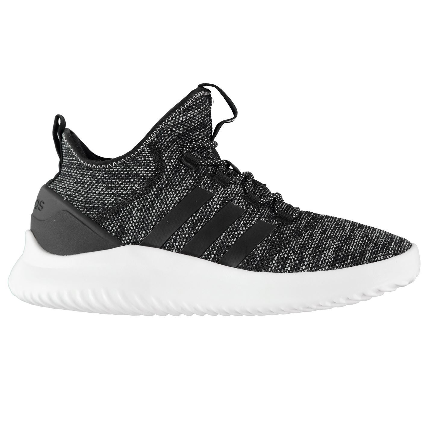 Adidas Uomo Cloudfoam Ultimate B Ball Trainers Runners Lace Lace Lace Up Knit Stretch 1244b5