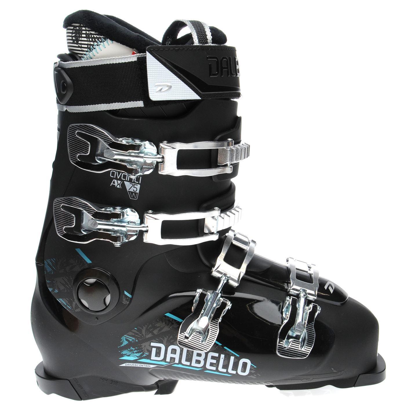 Dalbello-Womens-Avanti-75-Ski-Boots-Buckle-Warm