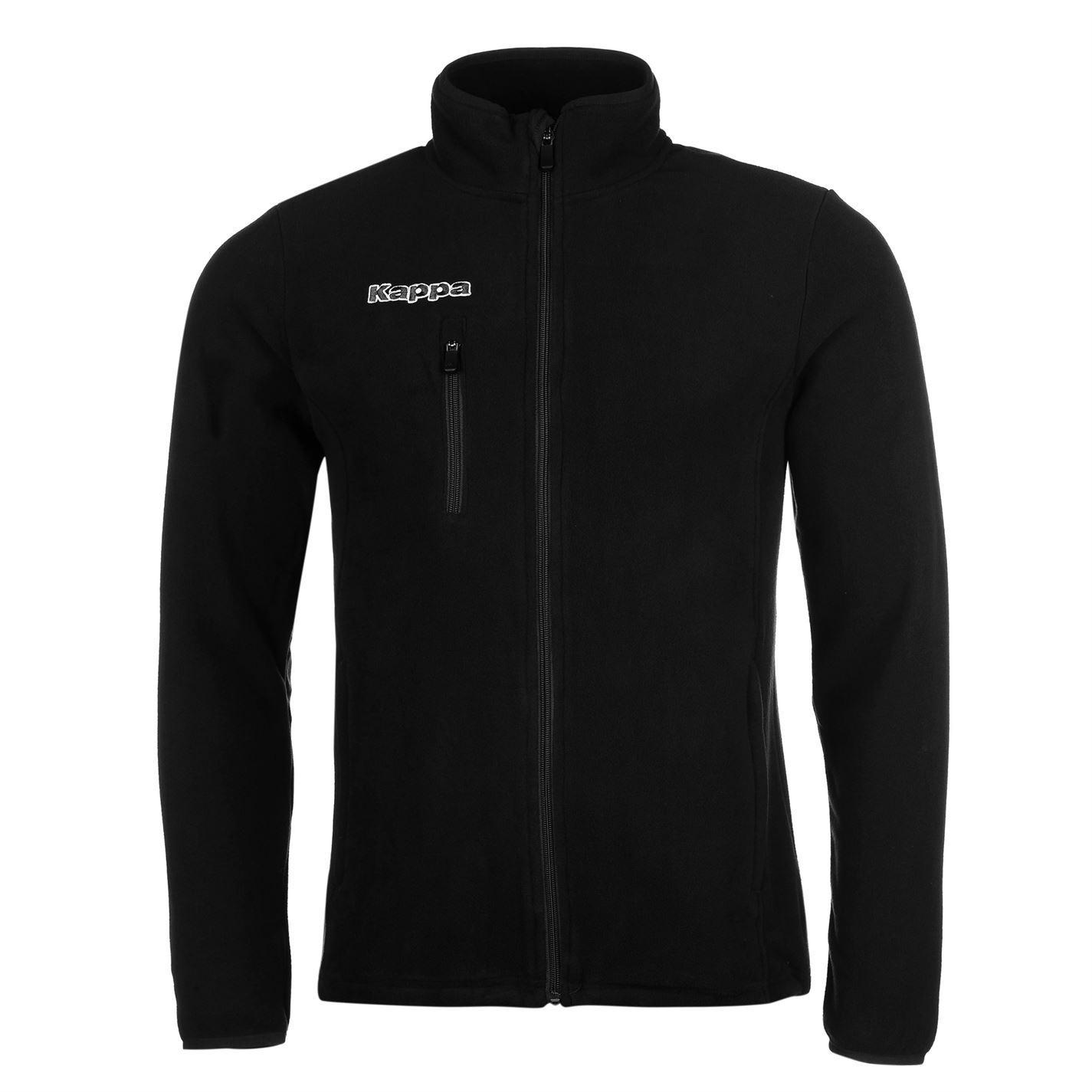 Kappa Men Carcarella Player Jacket Track Top Coat High Neck Full Zip Soft  Fleece